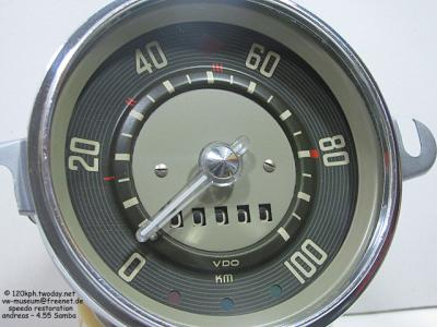 Restored 1955 Samba Speedo