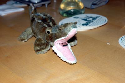 USB-Krokodil, Bild mit freundlicher Unterstützung und Genehmigung von Gnu1742