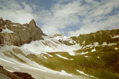 Pflerscher Scharte (2599m) von der österreichischen Seite