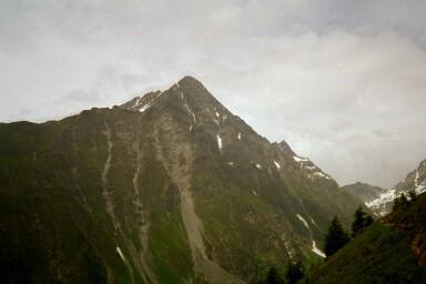 Piz Linard (3411m) aus südöstlicher Richtung