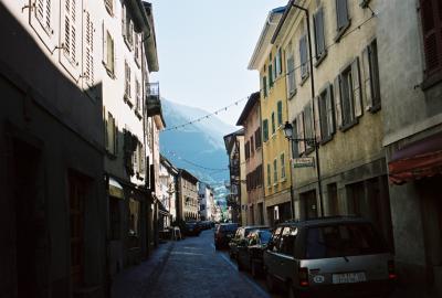 Gässchen in Martigny (465m)