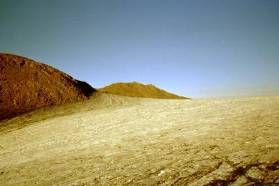 Rocciamelone-Gletscher (3200m)