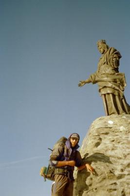 Ich auf dem Rocciamelone (3538m)