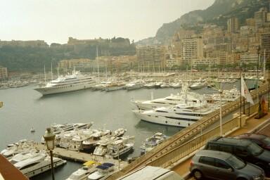 Am Hafen von Monte Carlo (0m)