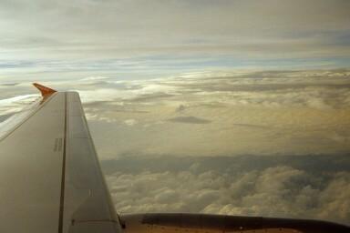 Rückflug von Nizza nach Berlin