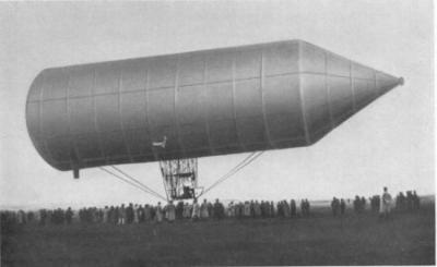 Luftschiff von David Schwarz