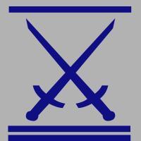 Schwert-blaugrau-
