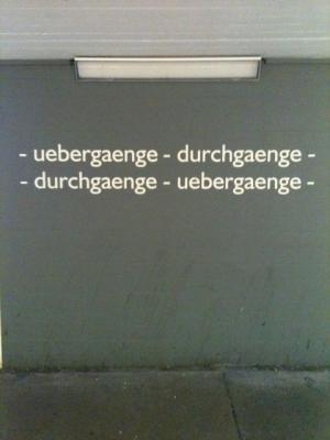 uebergaenge