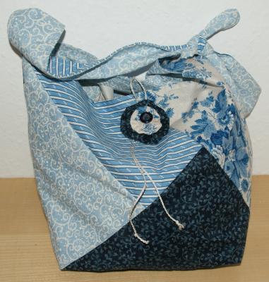 Tasche-blau