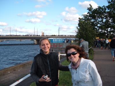 Links ist Linda - meine Buddy und daneben ihre beste Freundin Anastasija