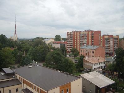 Blick aus meinem Studentenwohnheimszimmerfenster
