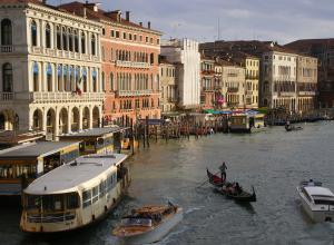 Postkartenmotiv in Venedig