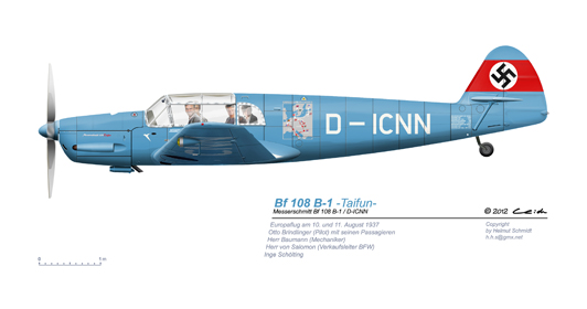 Bf-108-B1-D-ICNN-Europaflug-1937