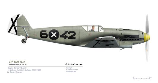 Bf-109-B-2-6-42-Lt-Wilhelm-Keidel