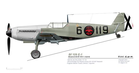 Bf-109-E-1-6-119-mit-HS-Motor
