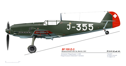 Bf-109-E-3a-J-355-Duebendorf-1979-