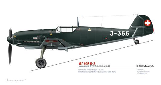 Bf-109-E-3a-J-355-Luzern-1959-1979