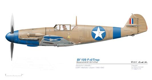 Bf-109-F-4-Trop-US-Beute-Martuba-Libyen