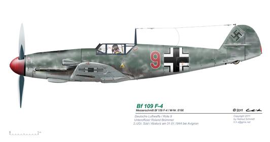 Bf-109-F-4-W-Nr-8166-Rote-9
