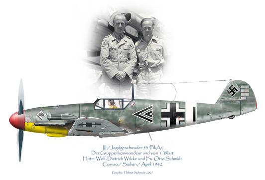 Bf-109-F-4-Wilke-Otto-Schmidt