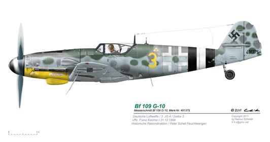 Bf-109-G-10-Gelbe-3-W-Nr-491375-P2-