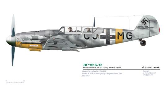 Bf-109-G-12-V52-W-Nr-18319-CJ-MG