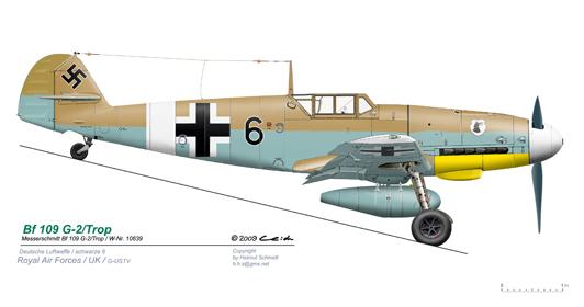Bf-109-G-2-Trop-Black-6-vR-