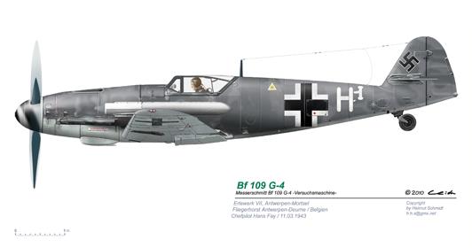 Bf-109-G-4-Antwerpen-Deurne