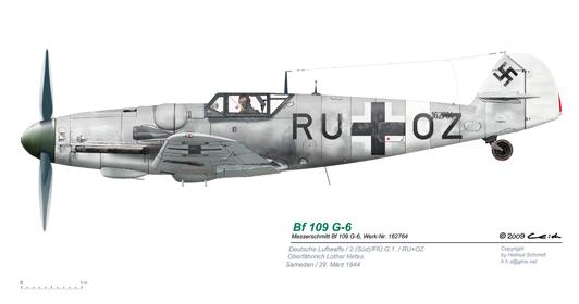 Bf-109-G-6-W-Nr-162764-RU-OZ