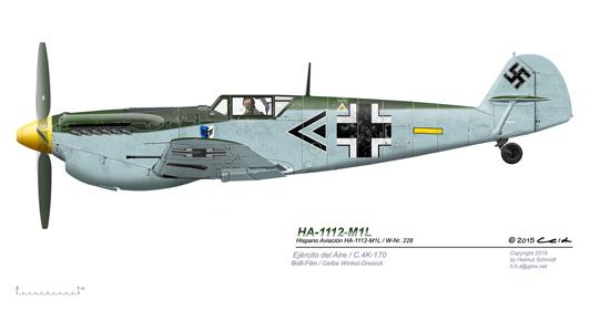 Buchon-C-4K-170-W-Nr-228-Gelbe-Winkel-Dreieck