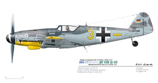 EADS-G-10-Gelbe-3-Erstflug