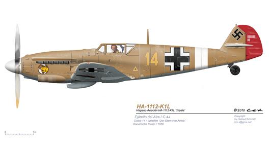 HA-1112-K1L-Gelbe14-Der-Stern-von-Afrika-