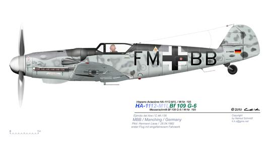 HA-Bf-109-G-6-W-Nr-195-D-FMBB-Hermann-Liese