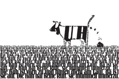 Die_Kuh-Kurt-Schwitters