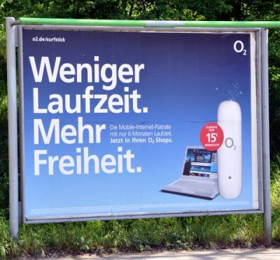 O2-Wahlkampf