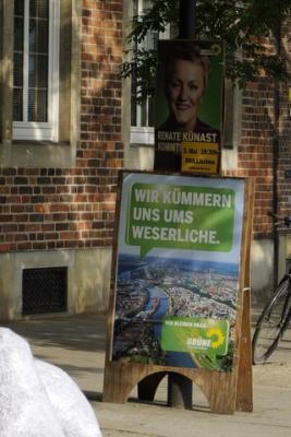 Die Grünen 2011 - Weserlich