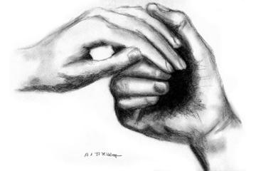 Gottes Hände Halten Mich