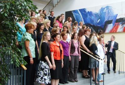Absolventenfeier-Gruppenphoto-2009