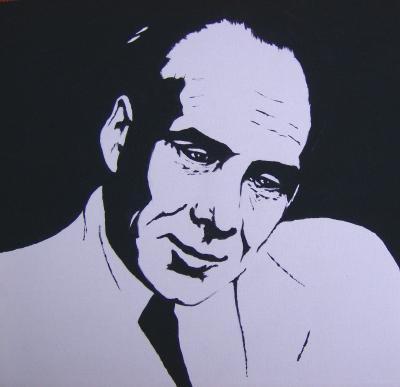 Portrait von Fritz Klatt nach einem Photo