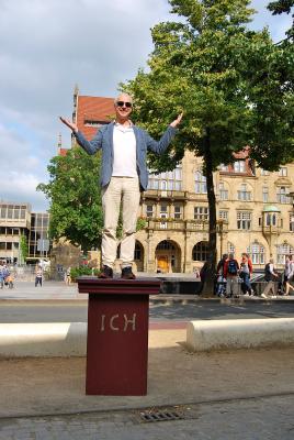 Bielefelder Bürger prüfen erfolgreich das Ich-Denkmal-Modell