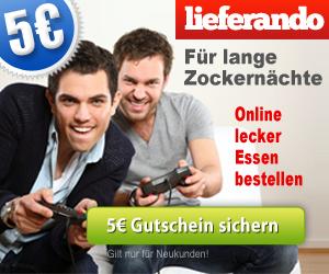 Essen online bestellen - 5 EUR sparen!