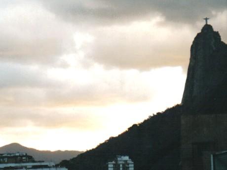 Corcovado von Botafogo aus