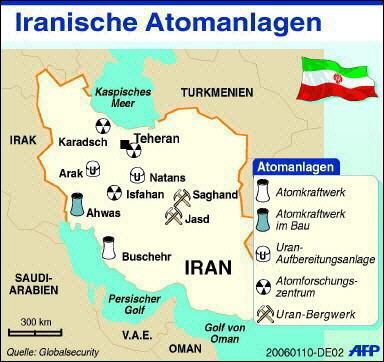 Iranische Atomanlagen
