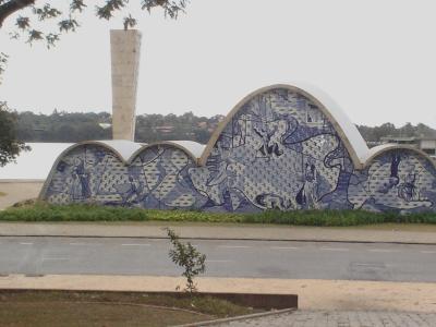 Sankt-Franziskus-Kirche von Niemeyer