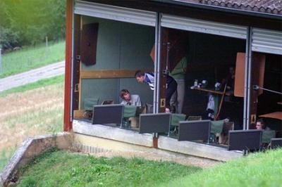 Schiesstraining von Faschisten in Aargau, Schweiz