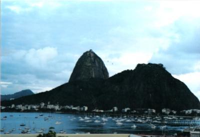 Zuckerhut von der Botafogo-Bucht aus