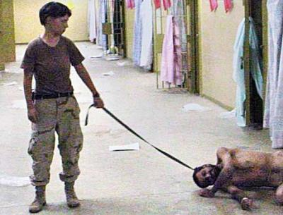 Abu Ghraib Lynndie England