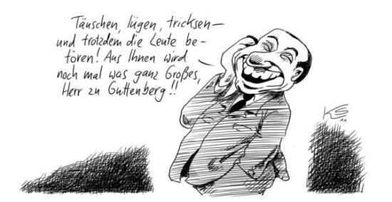 Berlusconi und Guttenberg