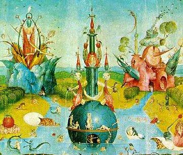Bosch, Garten der Lüste, Ausschnitt 2