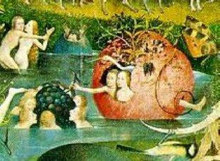 Bosch, Garten der Lüste, Ausschnitt 18